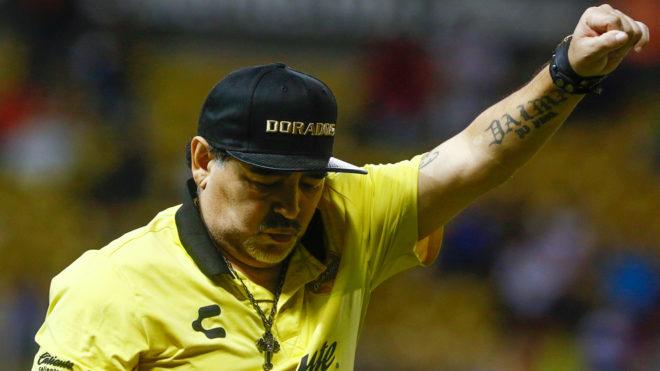 Maradona quiere trascender con Dorados en la Copa MX.