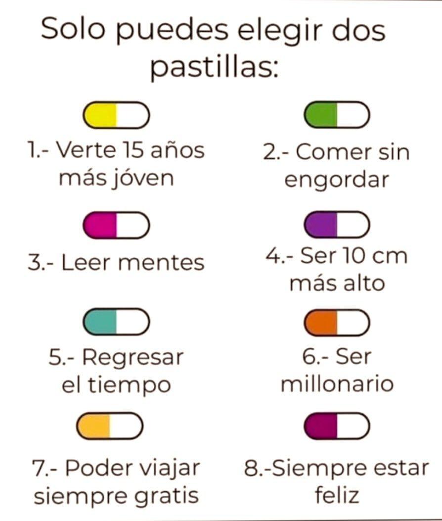 El reto de elegir dos pastillas de ocho que propone Iker Casillas