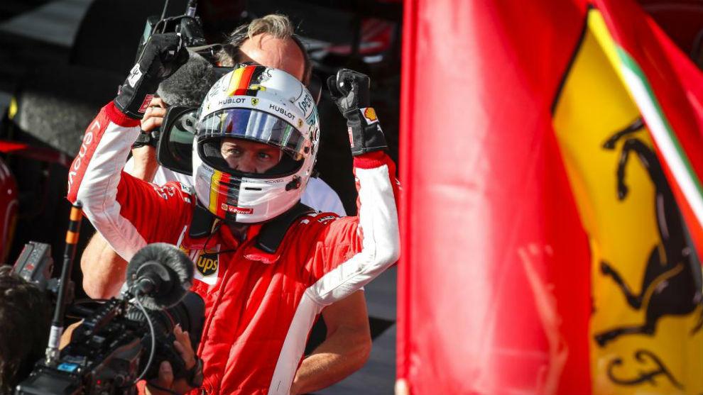 Vettel fue el vencedor en Australia el año pasado.