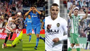Sevilla, Getafe, Valencia y Real Betis, favoritos en las apuestas para...