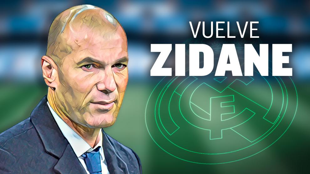 Resultado de imagen para zidane vuelve al real madrid