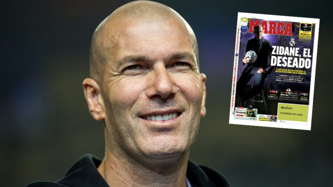 Zinedine Zidane Twitter: Real Madrid: Zidane Set To Be Announced As The New Real
