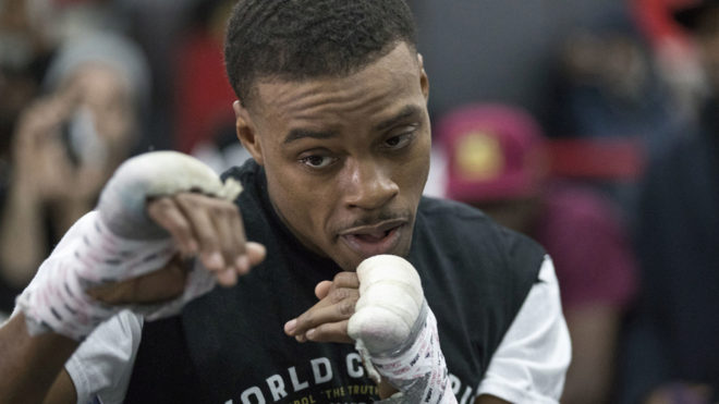 Errol Spence Jr. se prepara