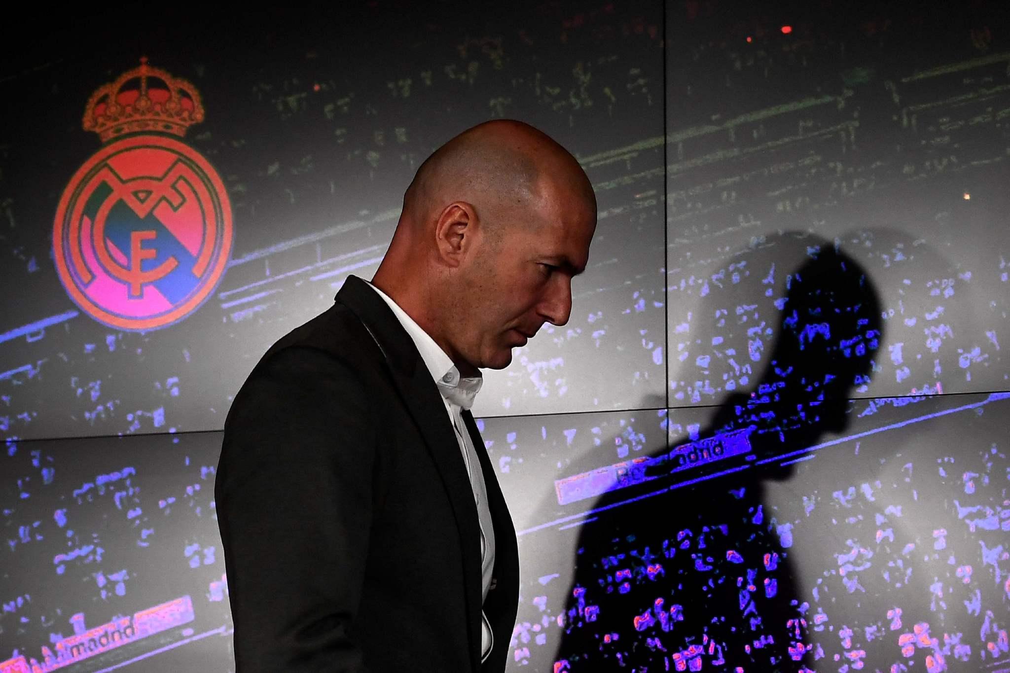 Real Madrid: Así fue la rueda de prensa de Zidane y las reacciones a su  regreso   Marca.com