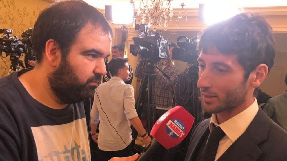 Esteban Granero junto a Jose Luis Escarabajano