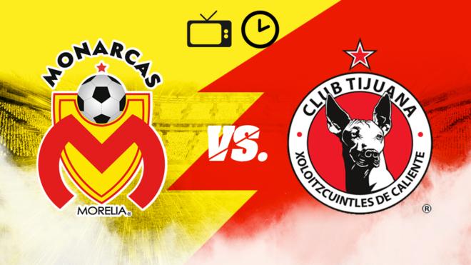 Copa Mx 2019  Monarcas vs Tijuana  Horario y dónde ver en tv en vivo ... f12a41286df5c