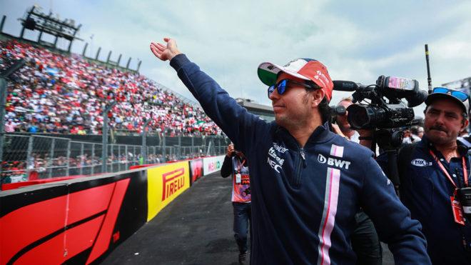 Checo Pérez correrá en su novena temporada dentro de la Fórmula 1