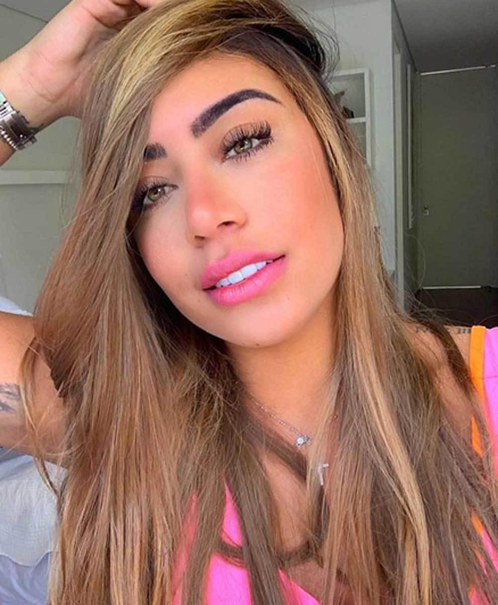 Rafaella, hermana de Neymar