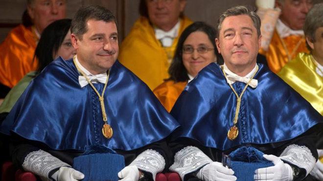 De izquierda a derecha, los hermanos Josep y Joan Roca