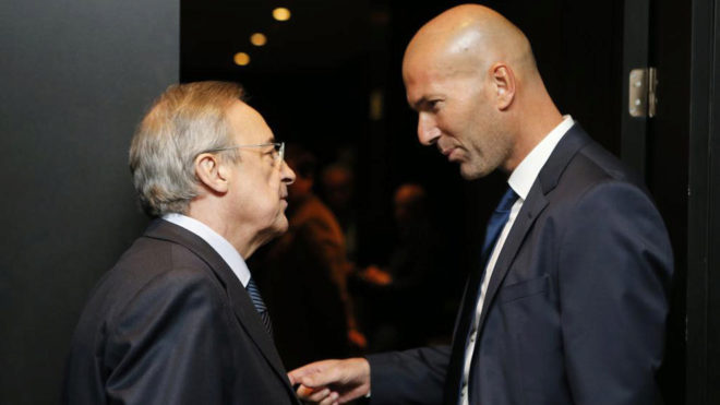 LaLiga Santander - Real Madrid: Zinedine Zidane accepts Florentino's offer  and will sign a contract until 2022 | MARCA in English