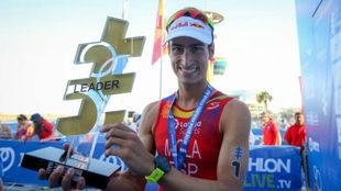 Mario Mola, primer líder de las series mundiales de este año.