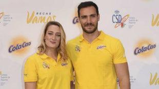 Saúl Craviotto y Mireia Belmonte, dos de los más serios candidatos a...