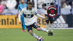 Jon Erice, en un partido con Vancouver en la MLS.