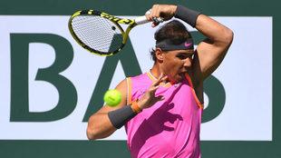 Nadal sigue avanzando en el primer Masters 1000 de la temporada
