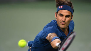 Federer derrocha clase ante Wawrinka y accede a octavos de Indian...