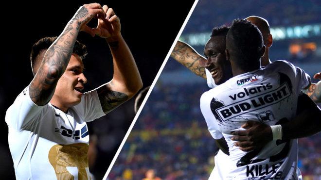 Pumas y Xolos son los primeros semifinalistas.