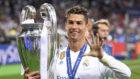 Cristiano Ronaldo festeja su quinta Champions