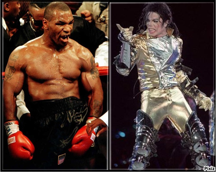 Mike Tyson y Michael Jackson