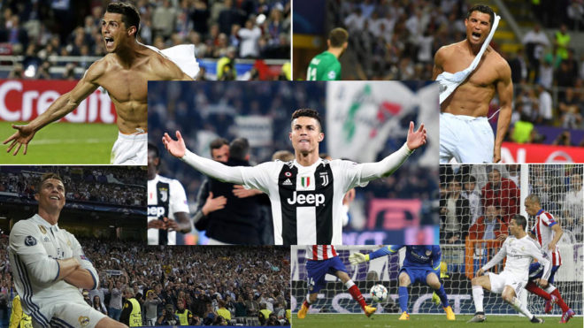 Cristiano hat trick powers Juventus over Atletico