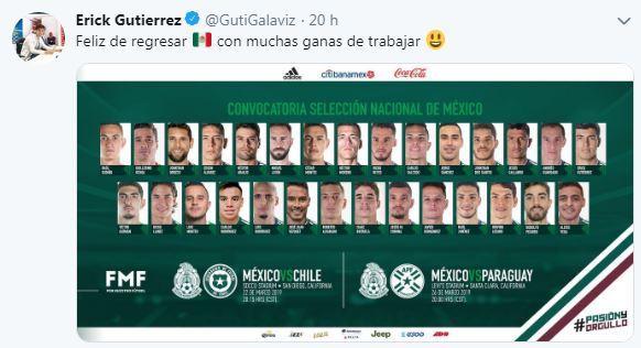 Víctor Guzmán, convocado al Tri para primeros juegos de Gerardo Martino