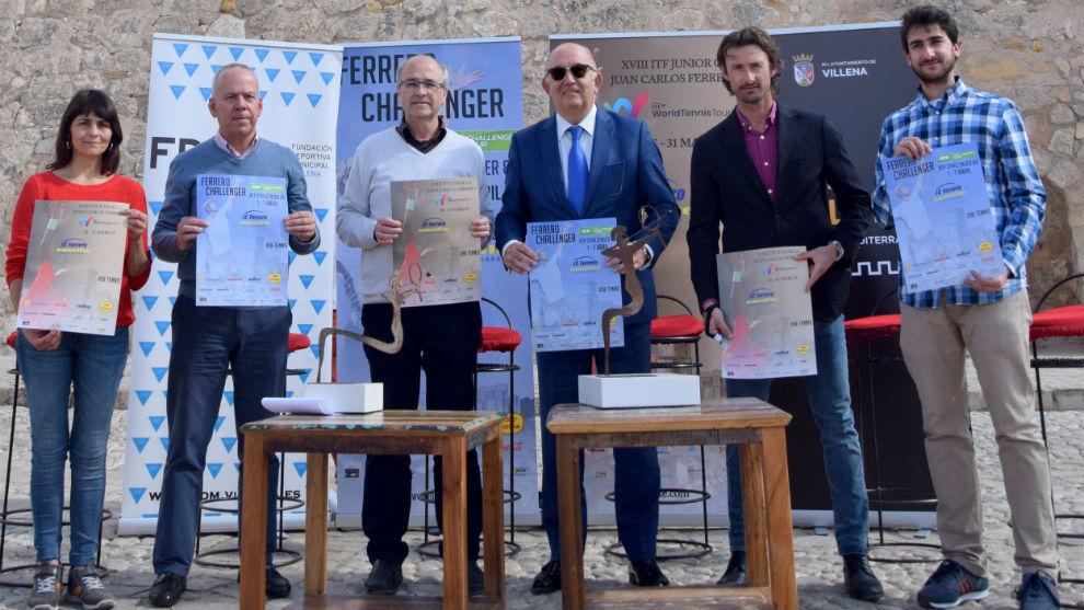 Antonio Cascales, Francisco Javier Esquembre, Miguel Díaz y Juan...