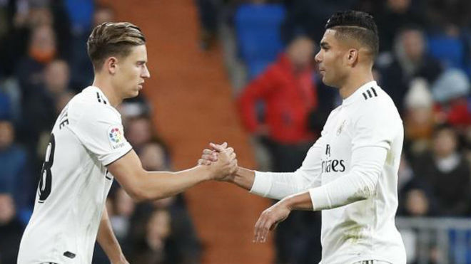 Marcos Llorente and Casemiro