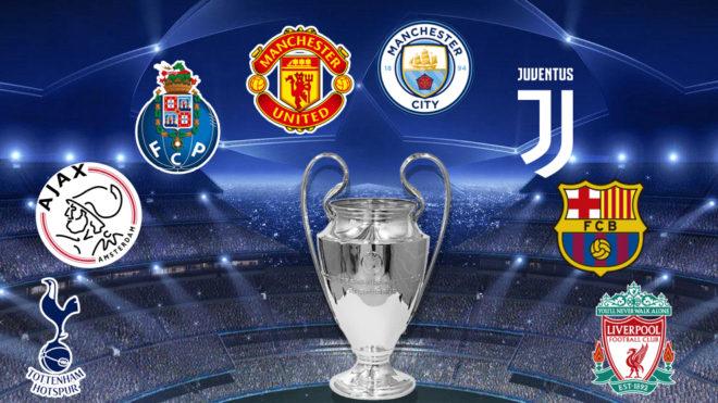 Sorteo Cuartos De Final Champions 2019 Photo: Champions League: Dominio Total De La Premier En Cuartos