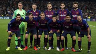 Once del Barça.