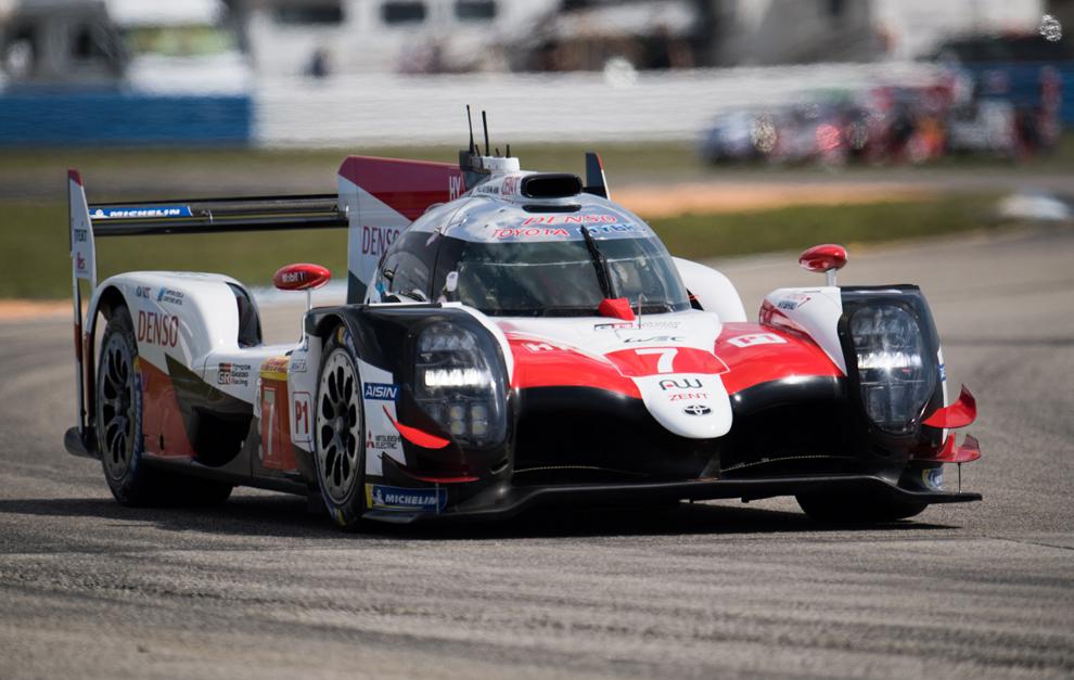 El Toyota 7 ha sido el más rápido el primer día en Sebring.