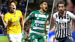 Tigres, Santos y Monterrey buscan un boleto a la final