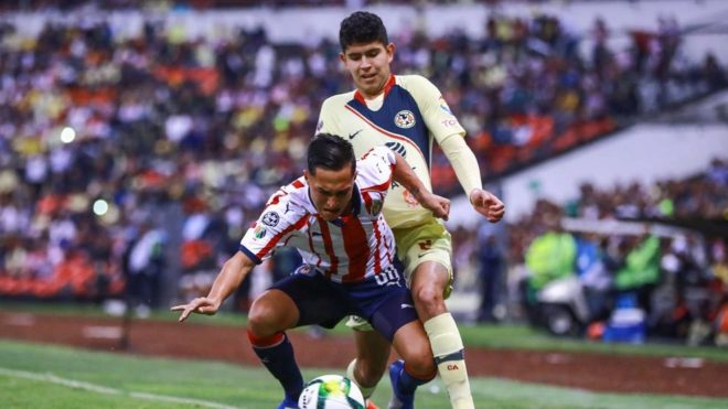 América vs Chivas, minuto a minuto en vivo