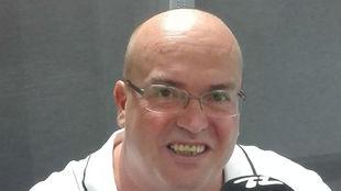 José Domingo, presidente del Tenisca.