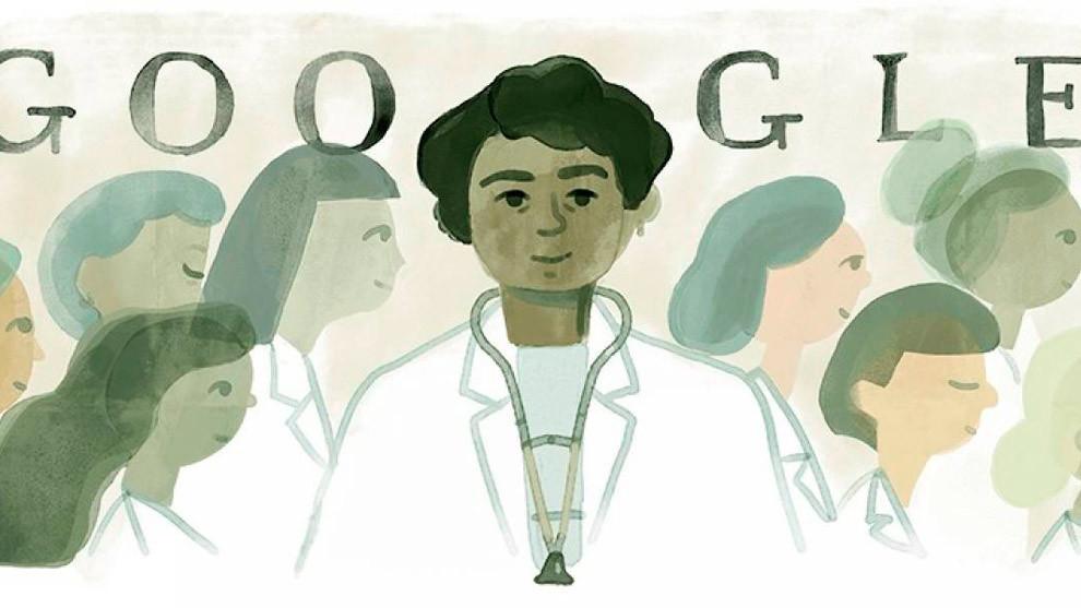 Doodle de Google en honor a Matilde Montoya