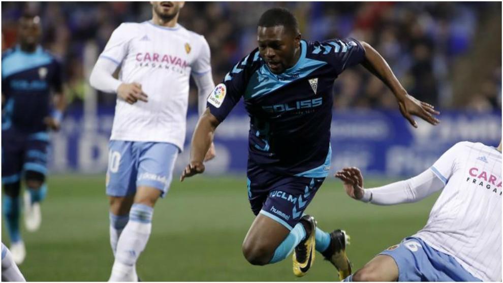 Bela, en el partido ante el Zaragoza