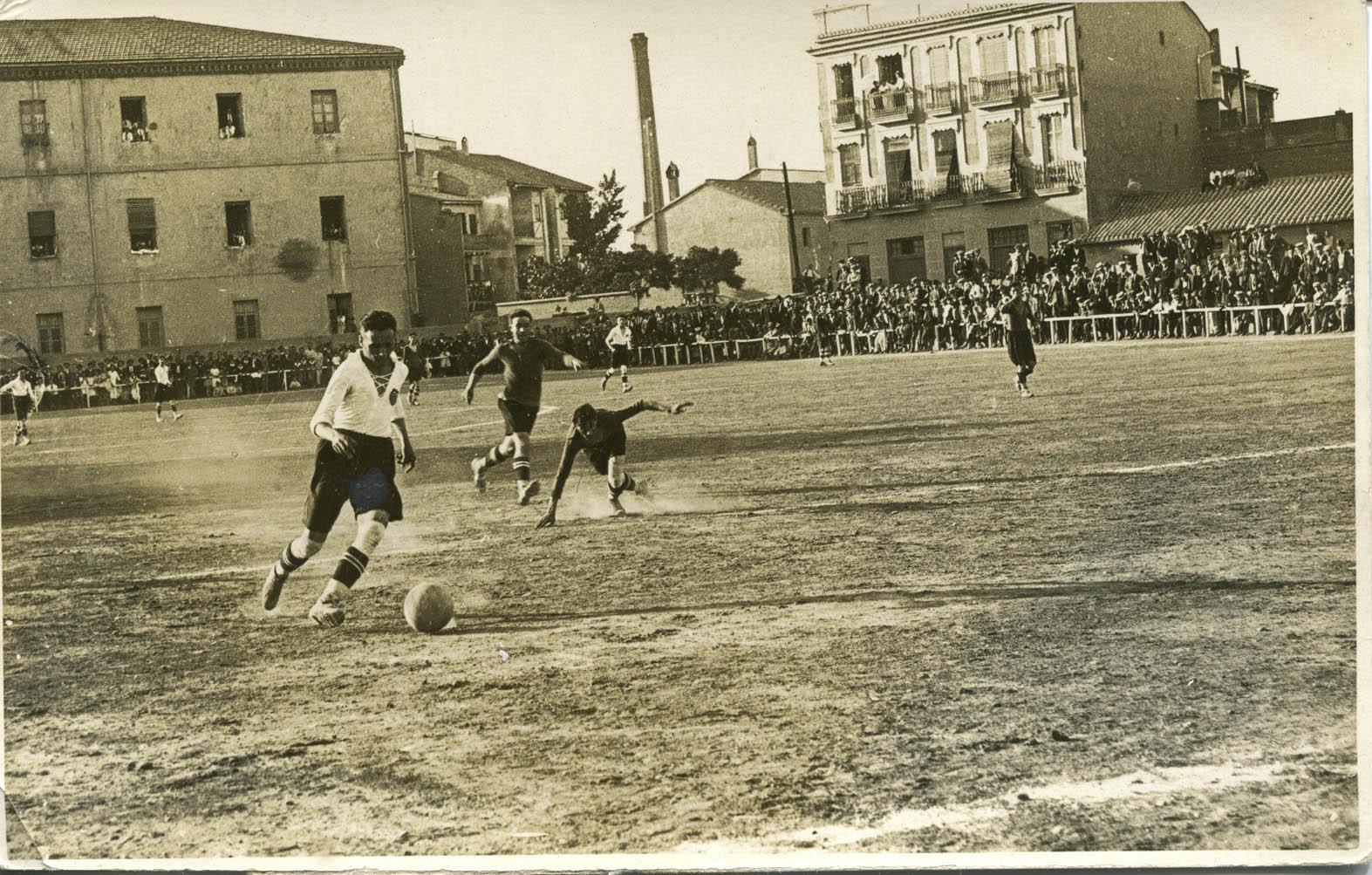 Algirós, la primera casa del Valencia Football Club.
