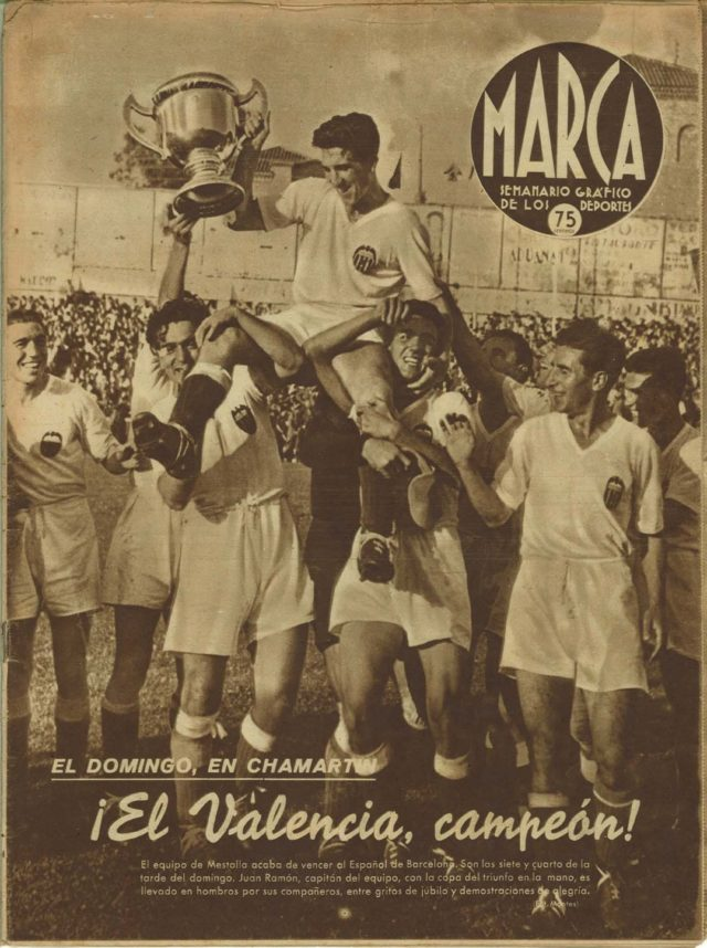 Resultado de imagem para valencia campeon espanol 1941