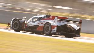 Fernando Alonso en el Toyota 8 con el que correrá las 1000 millas de...