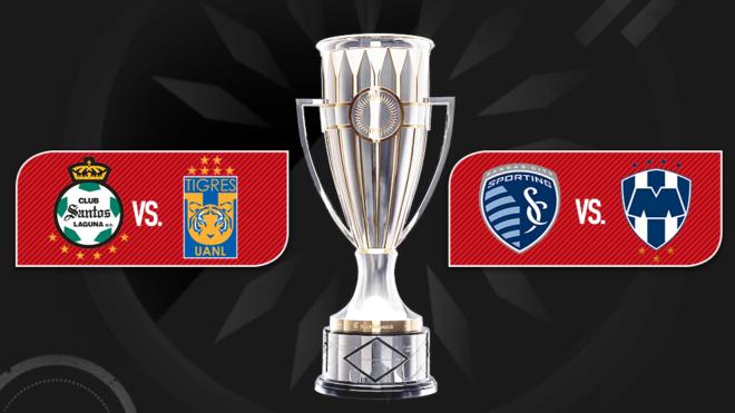 Semifinales definidas en Concachampions.