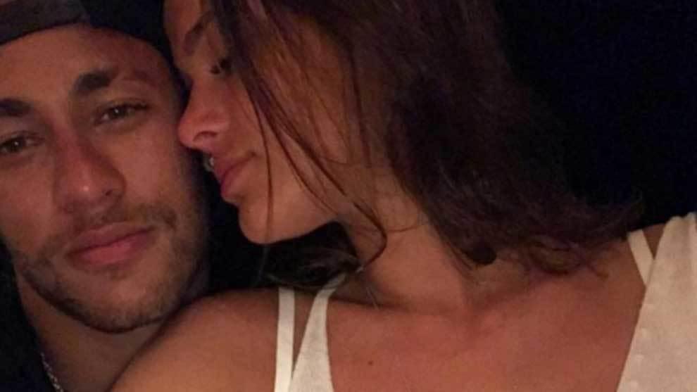 Neymar y Bruna Marquezine cuando salían juntos
