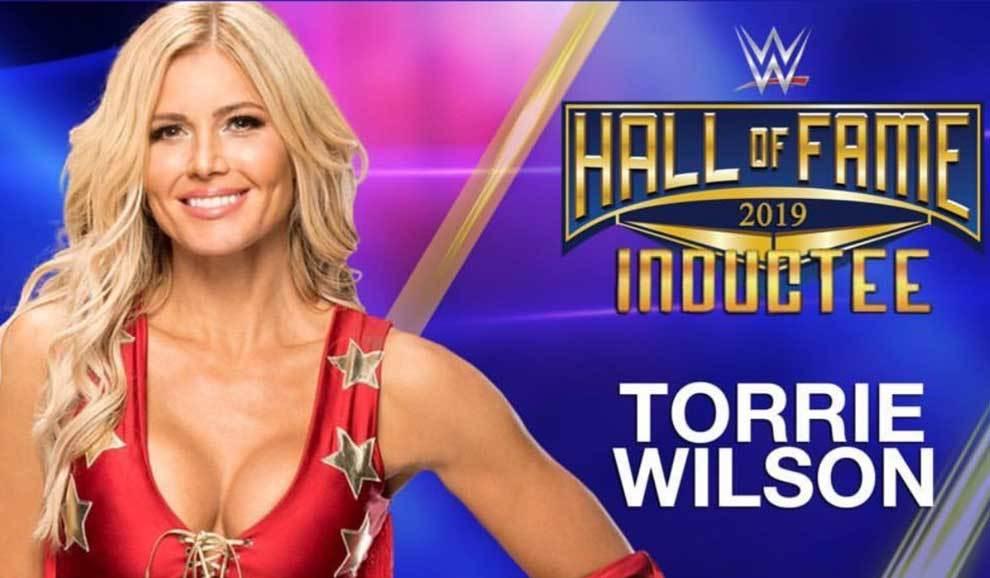 La luchadora Torrie Wilson ingresará en el Salón de la Fama de la...