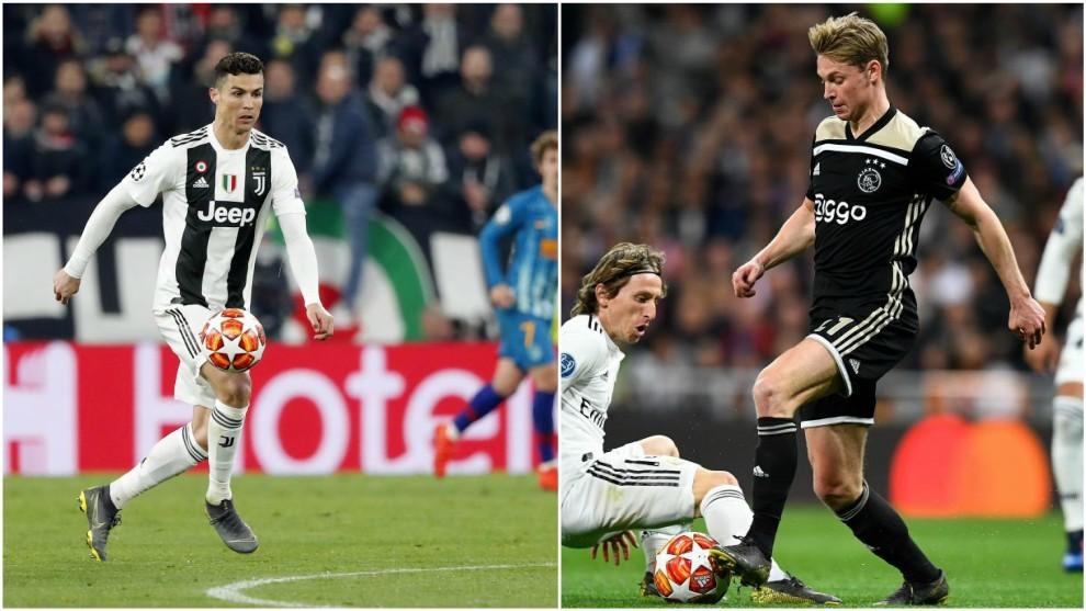 Ajax Juventus Twitter: Sorteo Champions: La Juventus De Cristiano Ronaldo Se