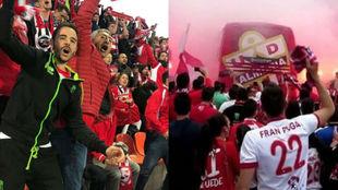 Aficiones del Granada CF y de la UD Almería