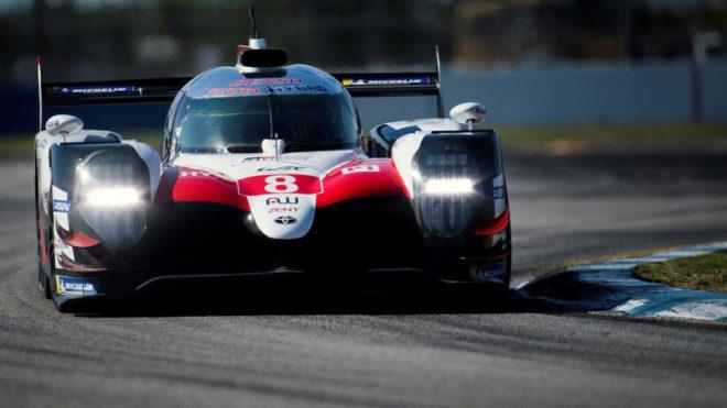 El Toyota 8 con el que Fernando Alonso corre las 1000 millas de...