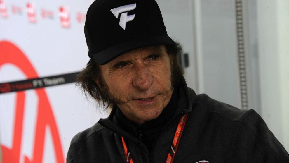 Fittipaldi, durante el pasado Gran Premio de Brasil.