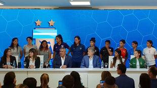 El fútbol femenil de Argentina