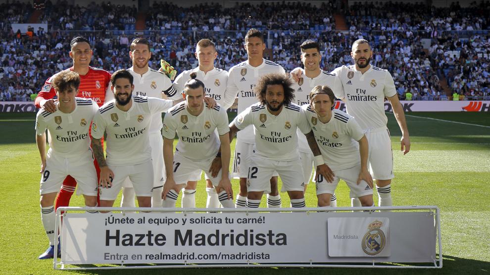 El once del Real Madrid elegido por Zidane para medirse al Celta.