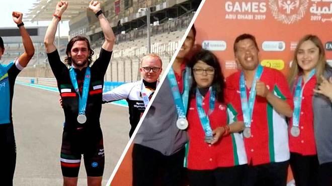 Dos platas más para México en los Juegos Mundiales de Olimpiadas...