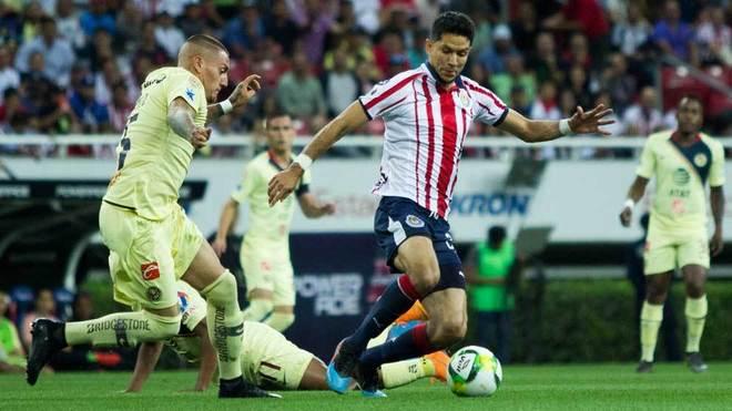 Chivas vs América en vivo el Clásico Nacional