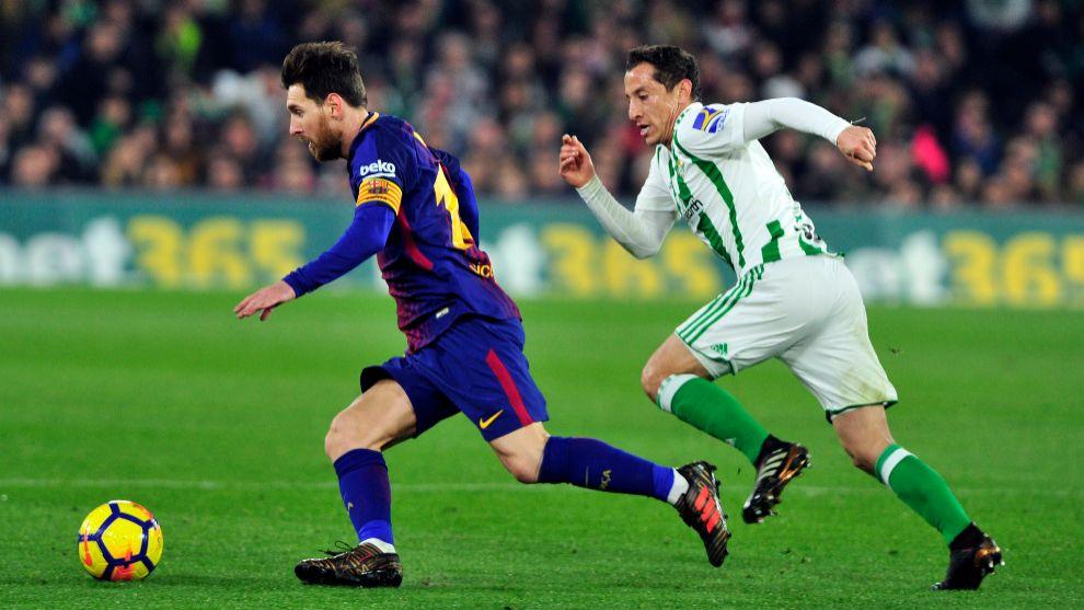 Messi, con Guardado