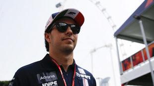 Checo Pérez habló sobre el GP de Australia.